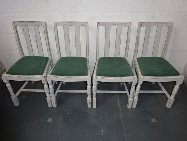 A set of four 1960's Oak Dining Chair's