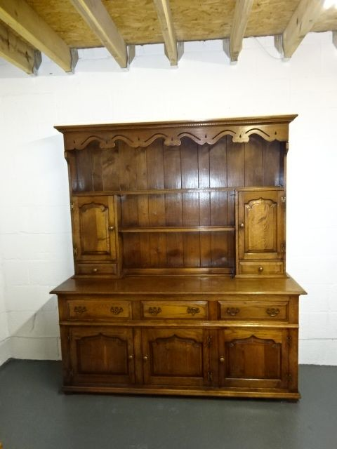 Solid Oak Welsh Dresser