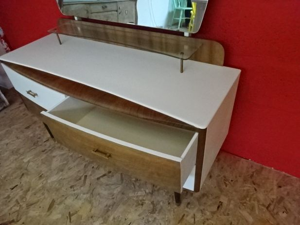 Mahogany & Teak Dressing Table